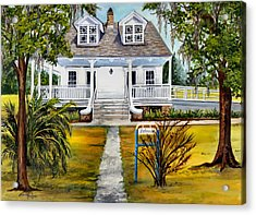 Islenos Museum Acrylic Print by Elaine Hodges