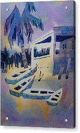 Isles Des Saintes Acrylic Print