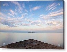 Islet Baraban With Lighthouse Acrylic Print
