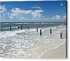 Isn't Life Wonderful? Acrylic Print by Melanie Viola