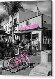 Isn't She Pretty In Pink Acrylic Print by Rich Beer
