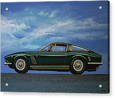 Iso Grifo Gl 1963 Painting Acrylic Print by Paul Meijering