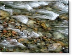 Iao Stream Acrylic Print