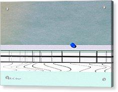 Acrylic Print featuring the digital art Isolation 2 by Kae Cheatham