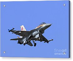 Israeli Air Force F-16c #307 Acrylic Print