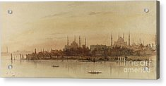 Istanbul Acrylic Print by Alfred de Courville