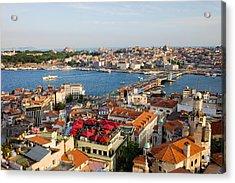 Istanbul Cityscape Acrylic Print
