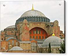 Acrylic Print featuring the photograph Istanbul Dome by Munir Alawi
