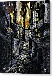 Istanbul Impressions. Lost In The City. Acrylic Print