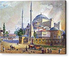 Istanbul Acrylic Print by Munir Alawi