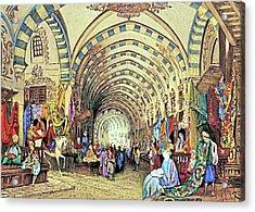 Istanbul Old Market Acrylic Print