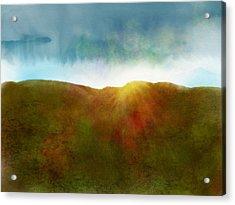 It Began To Dawn Acrylic Print