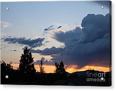Acrylic Print featuring the photograph It Cometh by Marie Neder