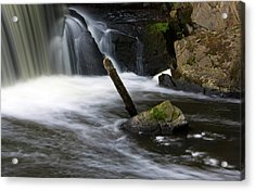 It Looks Like A Lever... Acrylic Print by Jeff Severson