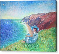 Acrylic Print featuring the painting It Could Be Me by Elizabeth Lock