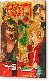 It Happened In A Restaurant Acrylic Print