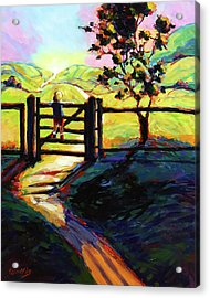 It Is A Great Big, Wide World Out There Acrylic Print