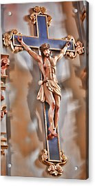 It Is Finished - Mission San Jose Acrylic Print by Stephen Stookey