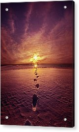 Acrylic Print featuring the photograph It Is Then That I Carried You by Phil Koch