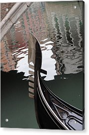 Acrylic Print featuring the pyrography It Is Venice by Yury Bashkin