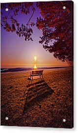 Acrylic Print featuring the photograph It Is Words With You I Seek by Phil Koch