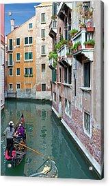 It Must Be Venice Acrylic Print by Janet Fikar