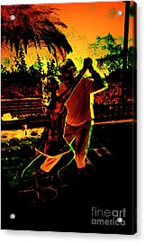 Acrylic Print featuring the photograph It Takes Two To Tango by Al Bourassa