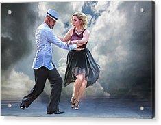 It Takes Two To Tango Acrylic Print by John Haldane