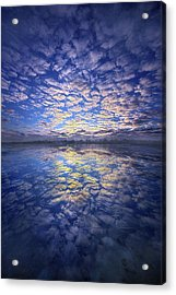 Acrylic Print featuring the photograph It Was Your Song by Phil Koch
