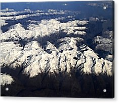 Italian Alps Acrylic Print by David and Lynn Keller