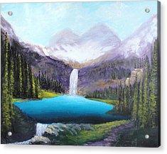 Italian Alps Acrylic Print
