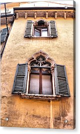 Italian Architecture Acrylic Print by Greg Sharpe