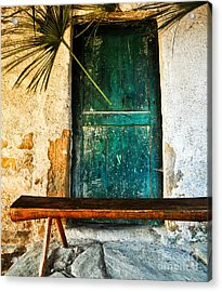 Italian Cottage Acrylic Print by Emilio Lovisa