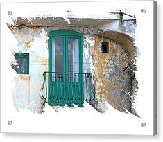 Italian Doors Acrylic Print by Jim Wright