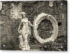 Italian Garden Acrylic Print