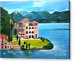 Italian Landscape-casino Royale Acrylic Print