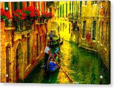 Italian Red Acrylic Print