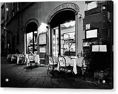 Italian Restaurant In Lucca, Italy Acrylic Print