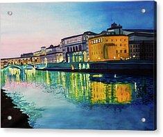 Italian Sunset Acrylic Print