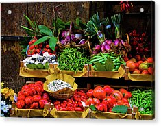 Italian Vegetables  Acrylic Print