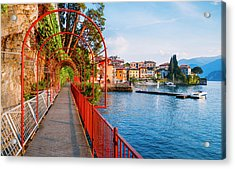 Italian Walk Of Love  Acrylic Print