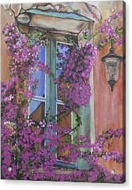 Italian Windows  Acrylic Print by Kim Selig
