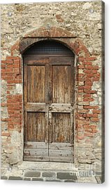 Italy - Door Eleven Acrylic Print