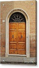 Italy - Door Fifteen Acrylic Print