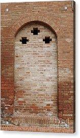 Italy - Door Fourteen Acrylic Print