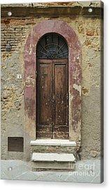 Italy - Door Seven Acrylic Print