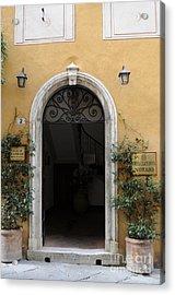 Italy - Door Thirteen Acrylic Print