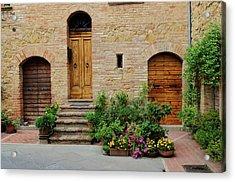 Italy - Door Eight Acrylic Print