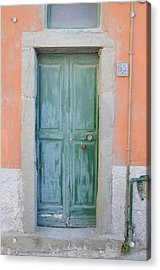 Italy - Door Five Acrylic Print