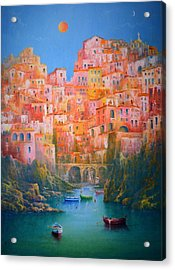 Impressions Of Italy   Acrylic Print